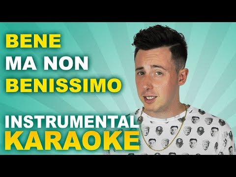 Shade: BENE MA NON BENISSIMO (Karaoke - Instrumental)