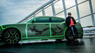 CRAZIEST DODGE CHARGER EVER(GLOWS IN THE DARK) ONLY IN DUBAI