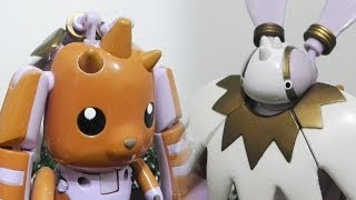 [Part-2/3] Lopmonロップモン to Kerpymon(Cherubimon)ケルビモン-デジタルモンスターDigimon Digivolving DX Figure