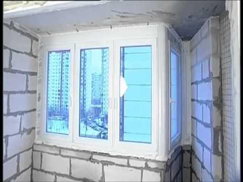 Утепление лоджии урсой видео