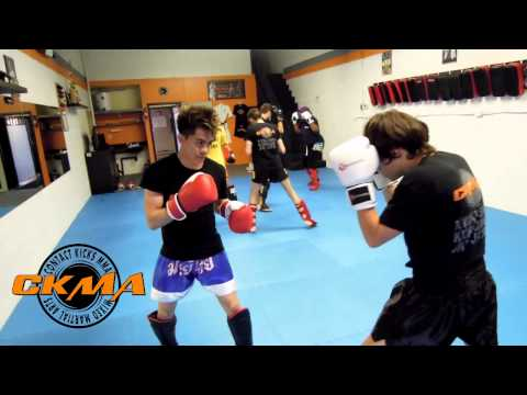 Kickboxing Sparring - Beginner and Intermediate Levels Image 1