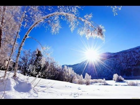 Картинки зима на рабочий стол скачать