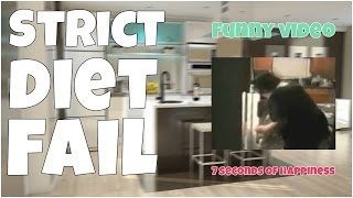 Strict diet fail 🔸 7 second of happiness FUNNY Video 😂 #367