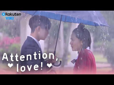 Attention, Love! - EP3 | Romantic Umbrella Scene [Eng Sub]