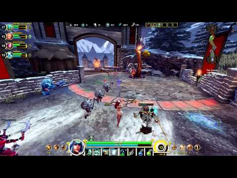 SMITE Assault Gameplay -