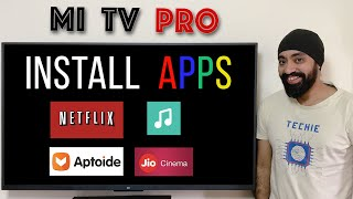 How to install apps Mi TV 4 /4A /4C /4X PRO | AMAZON PRIME, NETFLIX & more...