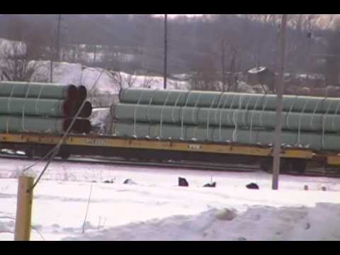 Gas Pipeline Update - Massillon, Ohio Railyard at Old Republic Steel Site, Feb  28, 2015