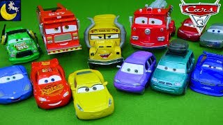 Lots of Disney Cars 3 Diecast Cars Deluxe Miss Fritter Tiny Lugsworth 2017 Lightning McQueen Toys!