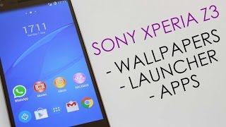 Sony Xperia Z3 - Apps,Wallpaper & Launcher (No Root)