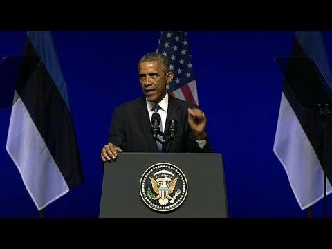 Obama: NATO must send support message to Ukraine