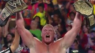WWE Summer Slam 2014 Highlights HD