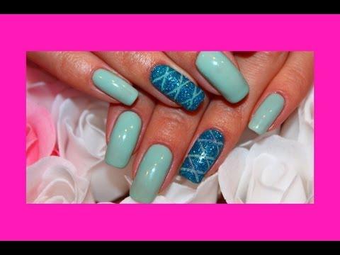 Барбери дизайн ногтей