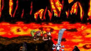Donkey Kong Country 2 102% Walkthrough : Crocodile Cauldron - Kleever