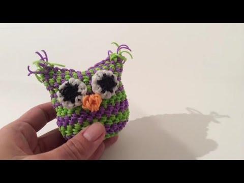 Видео уроки по плетению из резиночек сова