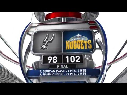 San Antonio Spurs vs Denver Nuggets - April 8, 2016