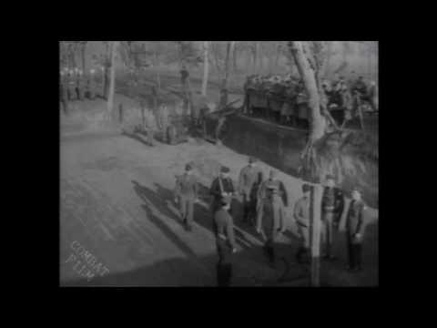 WW II - Nazi General Anton Dostler Execution