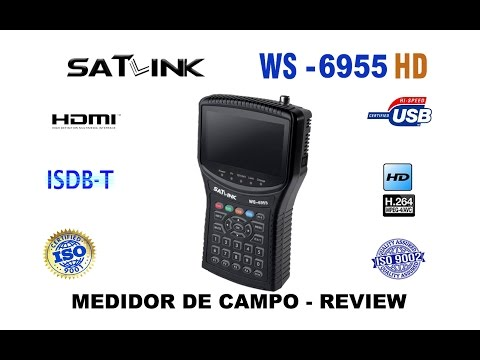 Satlink ws6955 REVIEW ( INÉDITO )