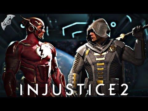 Injustice 2 Online - INSANE LEVEL 1 VS LEVEL 20 MATCHES!