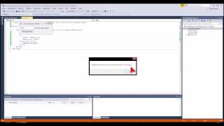 Visual Studio 2013 Express Tutorial #007 deutsch - Fehlerbehandlung
