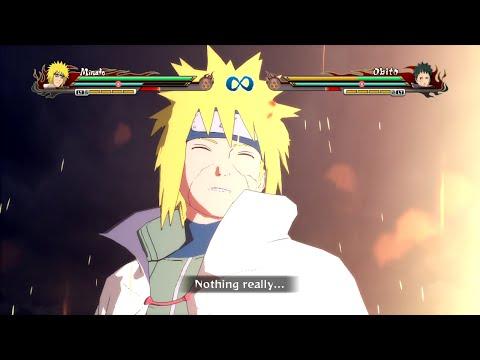 Naruto Storm Revolution - Edo Minato Namikaze Complete Moveset with Command List