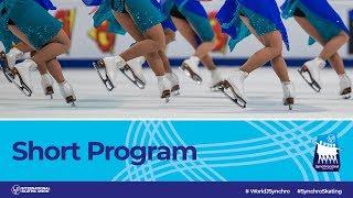 LIVE Short Program | Neuchtel 2019 | WorldJSynchro