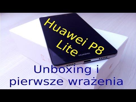 Huawei P8 Lite Unboxing I Pierwsze Wrażenia
