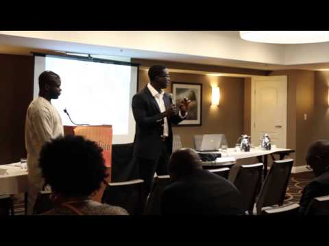 StartUp Africa Ideation Generation Pitch Competition 2014