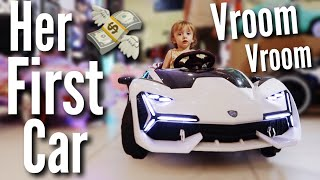 Buying Our Toddler A Lamborghini | Teen Mom Vlog