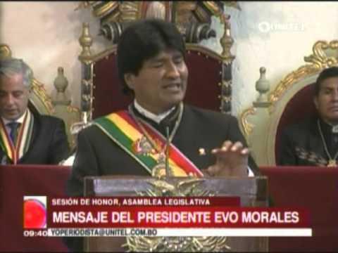 Discurso Evo Morales   6 de Agosto 2014