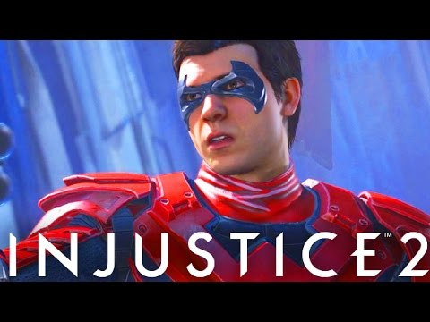 Injustice 2: Nightwing First Look! Premier Skin Or Gear? (Injustice Gods Among Us 2)