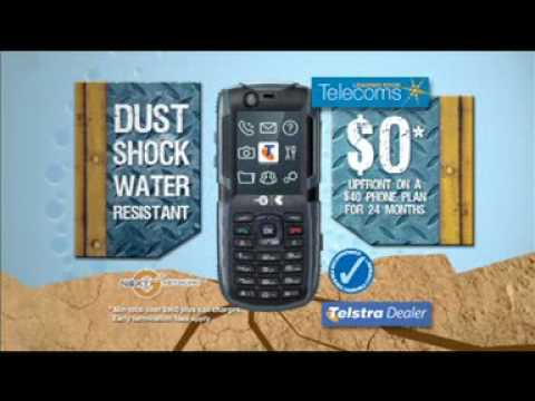 Leading Edge Telecoms Telstra T90 Tough Mobile Phone