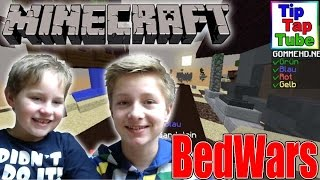 Let's Play Minecraft Bed Wars Online GommeHD Ash und Max TipTapTube