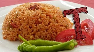 Bulgar Wheat Pilaf Recipe | Bulgur Recipe | Wheat with Tomatoes | Healthy Rice Recipe