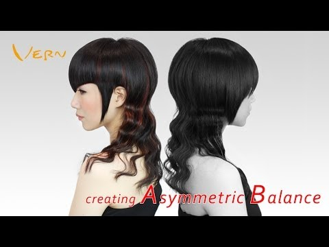 How to cut angled Bangs/wavy long women haircut? Design by Cherry,韓系波浪長捲女髮型設計Vern Hairstyles 17