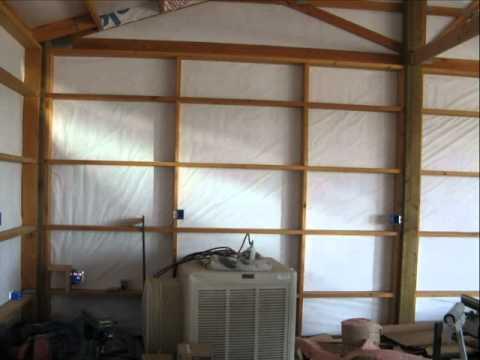 Pole Barn Garage Youtube