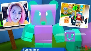 Roblox BEE SWARM SIMULATOR | GUMMY BEAR! | RadioJH Games