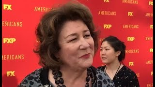 Margo Martindale ('The Americans'): Secrets of sizzling hot series finale on Hollywood red carpet