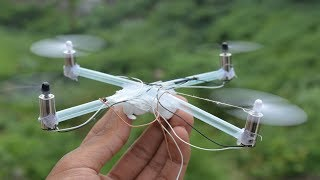 How to make Flying Drone At Home | make dc motor drone at home