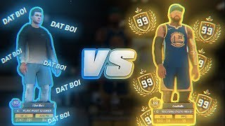 99 OVERALL 1v1 COURT LEGEND vs BEST POST SCORER IN NBA 2K18