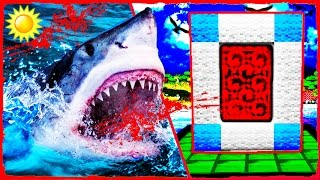 Minecraft JAWS - How to Make a Portal to the KILLER SHARK