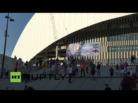 LIVE from Marseille following Ukraine-Poland Euro 2016 match