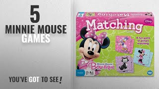 Top 10 Minnie Mouse Games [2018]: Minnie Mouse Matching Game