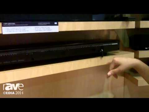 CEDIA 2014: Yamaha Expounds Upon YSP-25000BL and YAS-203BL Sound Bar