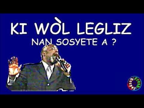 DIMANSYON YON MOUN NAN LEVANJIL  - EVANGELISTE JOSEPH JACQUES TELOR - MESSAGE DE LA PAROLE