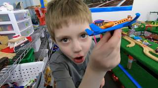 Train Crashes, Airplane Explosions! Great Fun Today on the TrainLab Fun Toy Train Videos for Kids