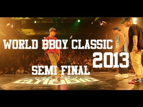 World BBoy Classic 2013 - Semi Final - Luigi & Kazuki Rock vs Tim & F E