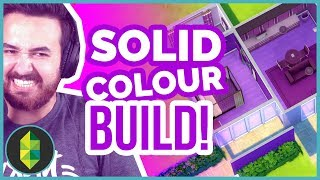 Sims 4 Solid Colour Challenge | ONLY ONE COLOUR BUILD!!