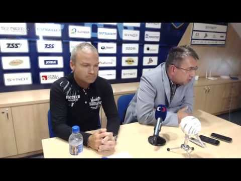 Tisková konference FC Baník Ostrava ke startu letní přípravy před sezonou 2015/2016