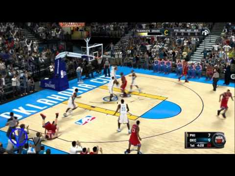NBA 2K11 - Oklahoma City Thunder wants Versuz Traded ( Crowd Chanting