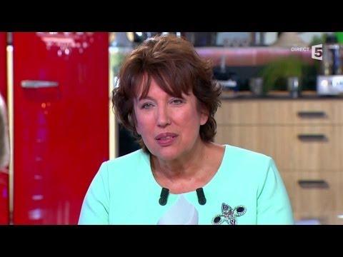 Roselyne Bachelot prévient les courtisans de Nicolas Sarkozy... - C à vous - 24/09/2014